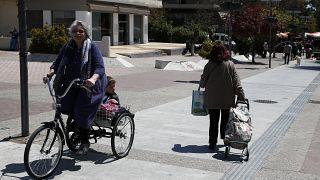 Virus Outbreak Greece Economy