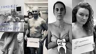 پیروزی جنبش «دندانپزشکان لخت» فرانسه؛ دولت ۴ ماسک در روز میدهد