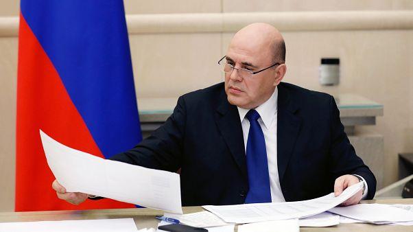 El primer ministro ruso Mikhail Mishustin da positivo en coronavirus y se aisla
