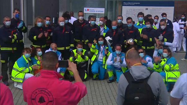 España cierra el hospital de IFEMA al confirmarse la tendencia a la baja en las muertes diarias