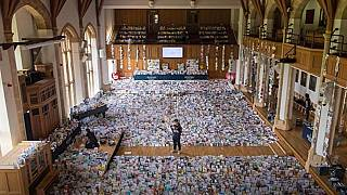 Around 140,000 cards have been sent to Captain Tom for his birthdayAP
