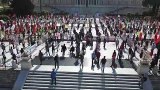 Incerteza paira sobre o 1º de maio em Atenas