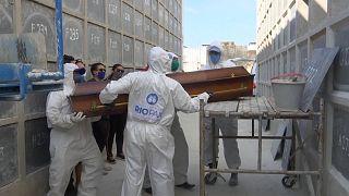 В Сан-Паулу опасаются роста числа умерших от COVID-19