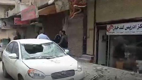 وقوع انفجار در یک انبار مهمات در حمص سوریه چندین زخمی بر جا گذاشت