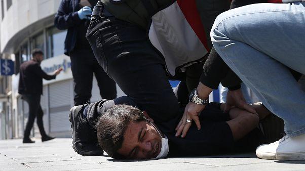 تركيا: توقيف متظاهرين خلال مسيرة بمناسبة عيد العمال