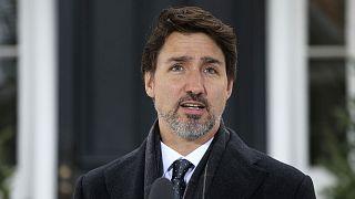 Archives : le Premier ministre du Canada, Justin Trudeau, le 19 mars 2020