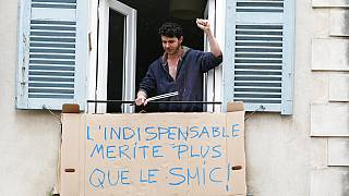 Virus Outbreak France May Day