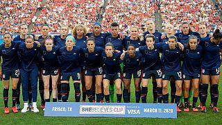 شکایت ۶۶ میلیون دلاری تیم ملی فوتبال زنان آمریکا برای دستمزد برابر با مردان رد شد