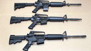 Saldırılarda en fazla kullanılan silahlardan birisi olan AR-15 yasak kapsamında
