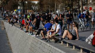 Joy and trepidation as Spaniards enjoy easing of restrictions