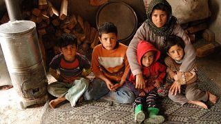 Adana'da yoksul bir aile (2010 yılı)