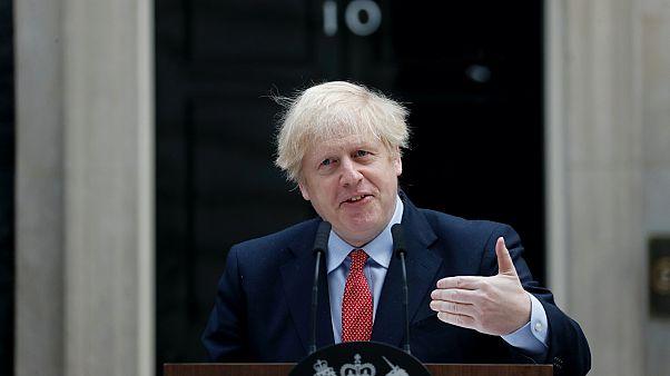 Boris Johnson felépülése után a Downing Streeten