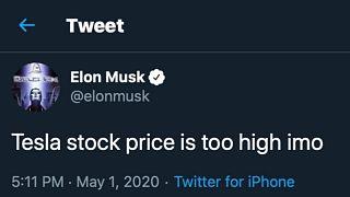 14 milliárd dollárral rövidítette meg a Teslát egy meggondolatlan tweet