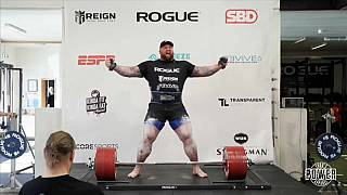 'La Montaña' establece el nuevo récord mundial de levantamiento de peso