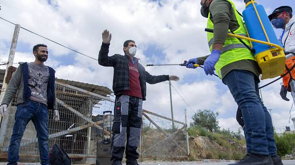 Virus Outbreak Palestinian Workers