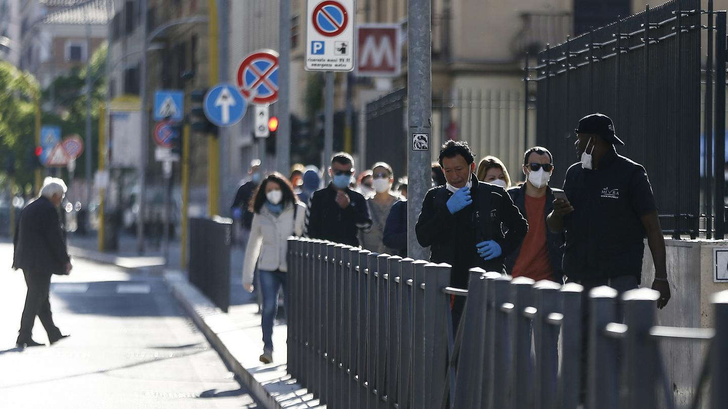 Italy eases coronavirus restrictions after two month lockdown ...