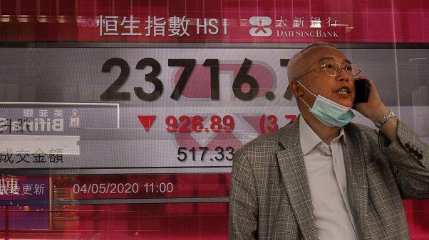 Asya ve Avrupa borsaları haftaya sert düşüşle başladı