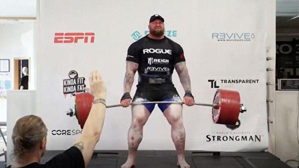 Game of Thrones'un 'Dağ'ından dünya rekoru: 501 kg kaldırdı