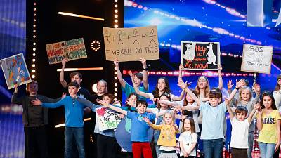 SOS From the Kids, Britain's Got Talent