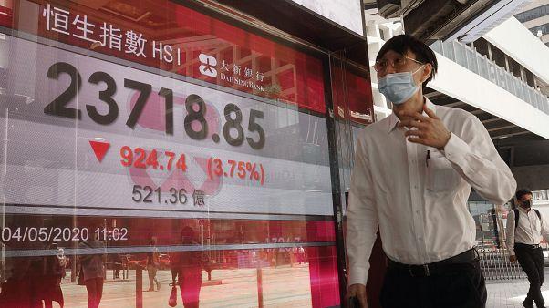 La economía de Hong Kong encadena su tercer trimestre de retroceso
