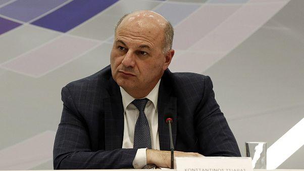 Ο υπουργός Δικαιοσύνης, Κωνσταντίνος Τσιάρας