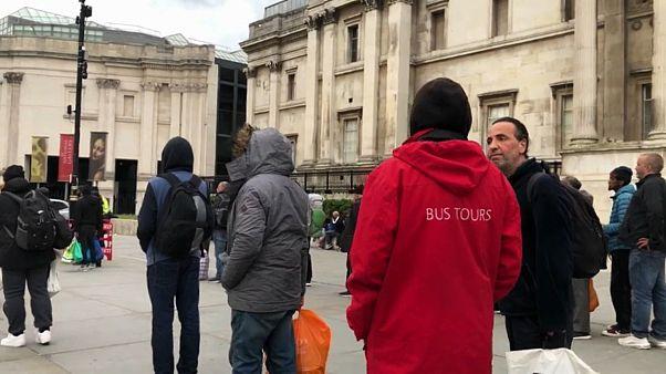 A Londres, le nouveau visage des sans-abri