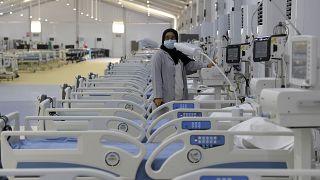 مستشفى سترة في جنوب العاصمة البحرينية المنامة