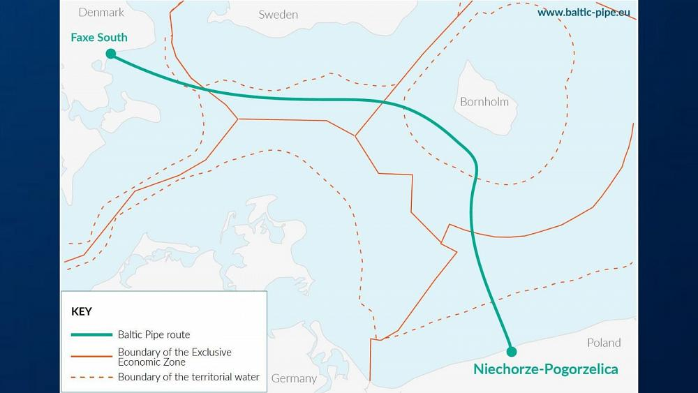 Baltic Pipe Project: Deal agreed to build gas pipeline under sea between Denmark...