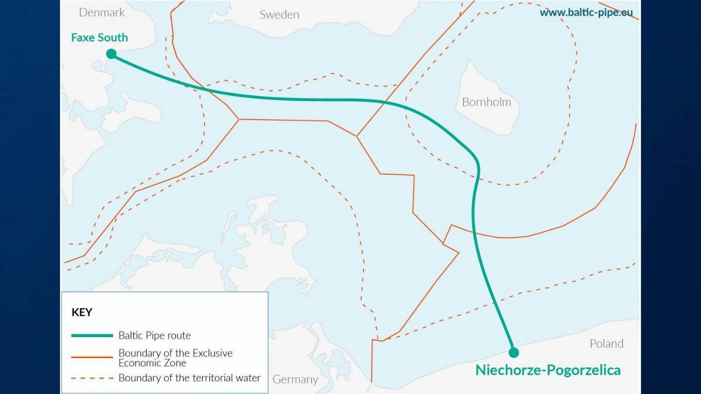 Baltic Pipe Project Deal Agreed To Build Gas Pipeline Under Sea Between Denmark And Poland Euronews