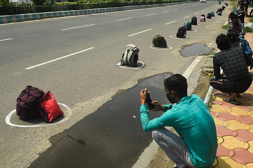 DIBYANGSHU SARKAR / AFP