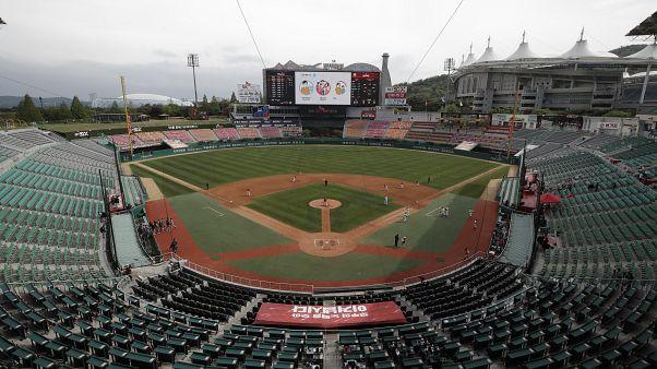 South Korea Season Starts Baseball