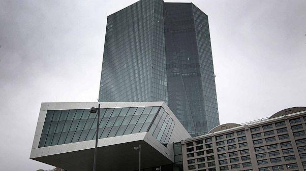 مقر البنك المركزي الأوروبي في فرانكفورت، ألمانيا، 12 مارس 2020