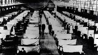 Fotoğraflarla 1918 İspanyol Gribi: 2020, 1918 gibi görünmeye başladı