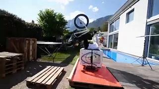 Mountain bike στο σπίτι