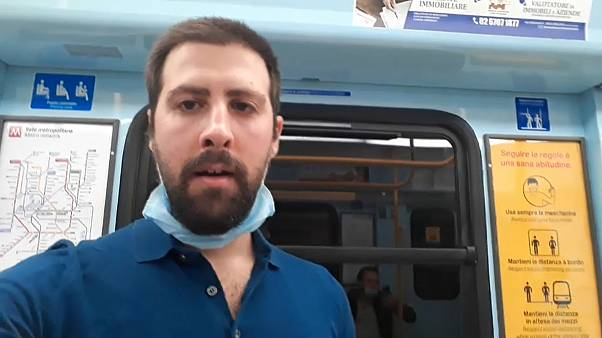 Coronavirus: Euronews journalist on his first day of freedom after Italy's lockdown is lifted