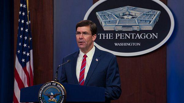 هشدار وزیر دفاع آمریکا: نه طالبان و نه دولت افغانستان به توافق صلح پایبند نبودند