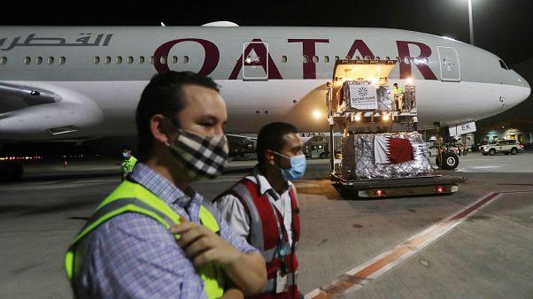 الخطوط الجوية القطرية في مطار حمد الدولي
