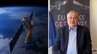Tecnología espacial en la lucha contra el coronavirus en Europa