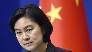هوا تشونينغ الناطقة باسم الخارجية الصينية