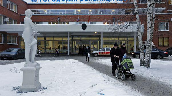مستشفى سيتي في مدينة سانت بطرسبرغ بروسيا