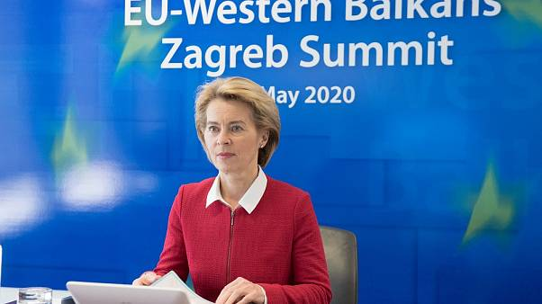 Participation of Ursula von der Leyen, President of the European Commission, at the video conference of the EU and Western Balkans leaders