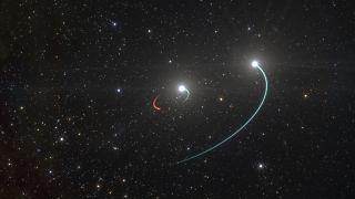 الثقب الأسود في الفضاء