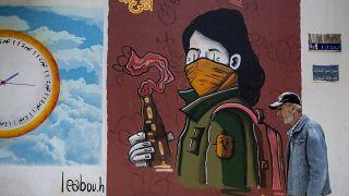 Virus Outbreak Lebanon May Day