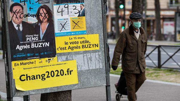 من اللافتات الانتخابية في فرنسا