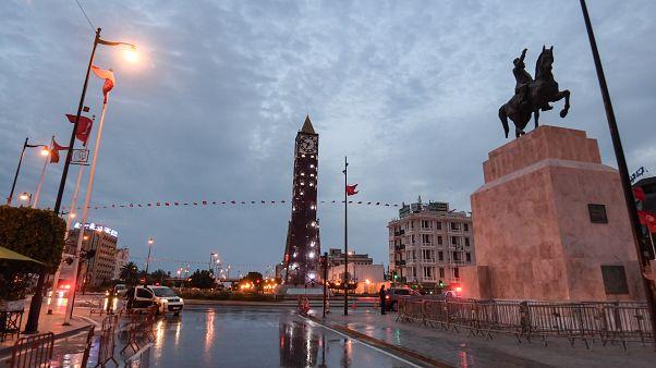 شارع الحبيب بورقيبة في تونس العاصمة