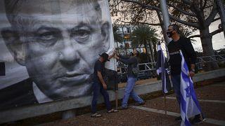 Virus Outbreak Israel Perfecting Protests