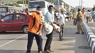 Индия: трагедия на химическом заводе