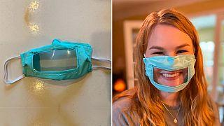 İşitme engelliler dudak hareketlerini gösteren şeffaf maske üretilmesini talep ediyor