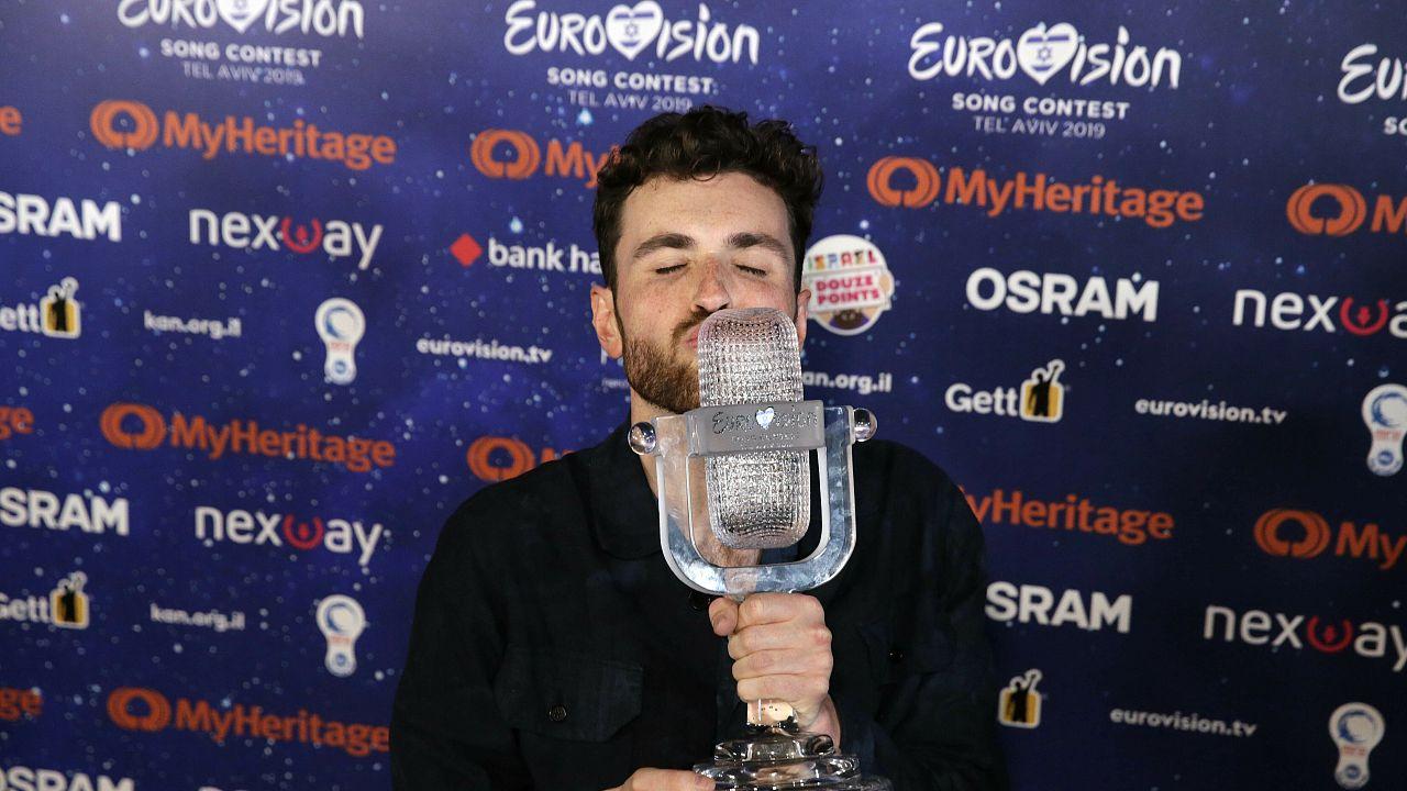 Ο περσίνος νικητής του διαγωνισμού της Eurovision Duncan Laurence από την Ολλανδία