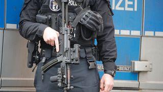 شرطي ألماني